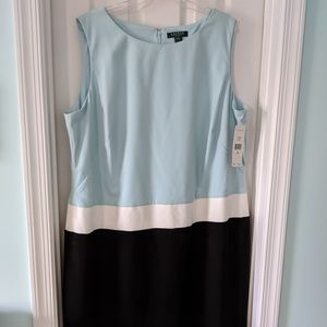 Plus Size Lauren by Ralph Lauren dress 22w